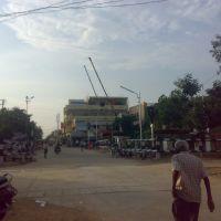 Railway gate, Anantapur, Анантапур