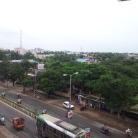 From Oak Tree Hotel, Banugudi Jn, Kakinada, Какинада