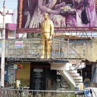 Statue of Sri Borra Venkataswamy , Machilipatnam, Мачилипатнам