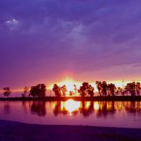 sunset view, Дибругарх