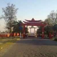 University gate, Дарбханга