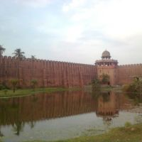 Darbhanga kila wall, Дарбханга