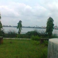 Dighi lake view from the park, Дарбханга