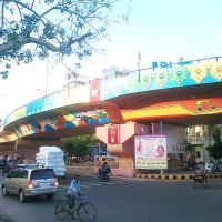Kavi Nanalal Marg (Flyover Bridge on Ashram road), Ellisbridge Ahmedabad, Ахмадабад