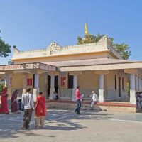 Shri Krishna temple at Bhalka Tirtha, Gujarat, Веравал