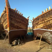 Big Ships and small Cycles at Veraval, Веравал