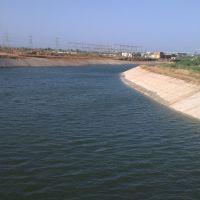 Beautiful Narmada canal near Surendranagar