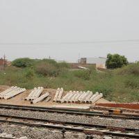 DPAK MALHOTRA, Surendernagar Junction Railway Stn, Ahmedabad-Surendernagar Track, गुजरात भारत Gujarat Bharat ગુજરાત ભારત દેશનું, Райкот