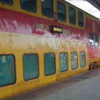 Double decker Express, Dhanbad-howrah, Дханбад