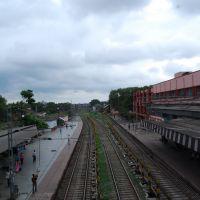 Railway track-Pix:Chandan Studio,Dhanbad 9431162737 www.cs.dhanbadonline.com, Дханбад