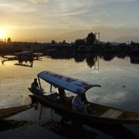 Dal lake. Srinagar, Сринагар