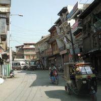 Une rue du Centre Ville, Сринагар