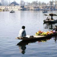 LLAC DAL venedor de flors, Сринагар
