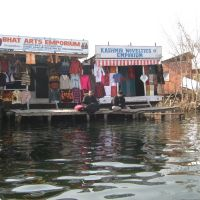 shop in dal lake, Сринагар