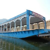 Donga (Functions) Boat on the Dal Lake: Srinagar, Kashmir Valley, Jammu and Kashmir, Сринагар