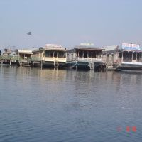 House Boats at Dal Lake, Place to stay over water, Сринагар