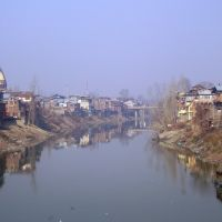 Jehlum and the old city Srinagar, Сринагар