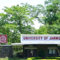 University Of jammu, Ямму