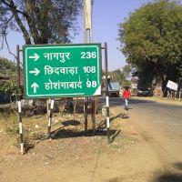 To Nagpur, Chidwara, Hoshangabad, Барейлли