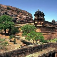 A Palace in Gwalior Fort, Гвалиор