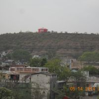 water tank on hill, Дамох