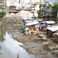 Slum Livings In Siyaganj Area Indore, Индаур