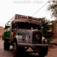 OLD TRUCK  - RAJASTHAN  , by AUGUSTO JANISCKI JUNIOR, Мау
