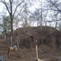 Forest  Rocks at Sheetla Mata Temple Gwalior, Мау