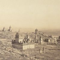 sonagiri jain temples old photo (not so white as today), Мау