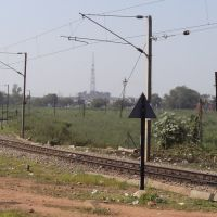 Railway Line towards Sagar & Bina, Мурвара