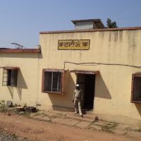 Cabin, Katni Junction, View from Train, Мурвара