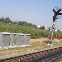Leaving Katni Junction, View from Train, Мурвара