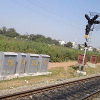 Leaving Katni Junction, View from Train, Мурвара
