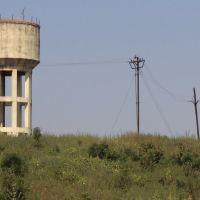 Water Tank, Katni, View from Moving Train, Мурвара