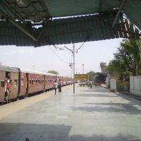 Railwway Platform No 3 of Ratlam Railway station, Ратлам
