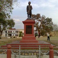 Late Maharaja Gulab Singh statue, Рева