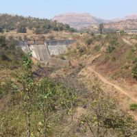 Large Concrete Dam Purushwadi, Акола