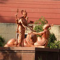 Bhavani Mata offering sword to Raja Shivaji,Ch.Shivaji Museum Aurangabad, Амальнер
