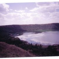 Impact of a celestial Rock- Lonar Crater, Барси