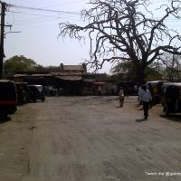 Busstop at Khandvi (Maharashtara State HIghway 194), Малегаон
