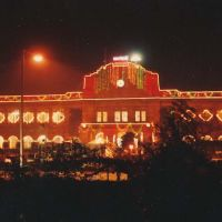 Nagpur Railway Station in Night, Нагпур