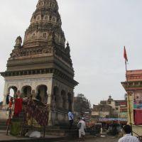 On bank of Chandrabhaga river, Пандхарпур