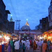 An evening nr.Shri Vitthal Mandir, Пандхарпур