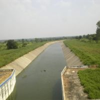 A Canal leaving from Gosekhurd Dam., Тана