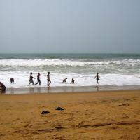 Sea-Shore, Jagannath Puri, Пури