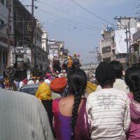 Calle en Amritsar, Амритсар