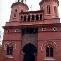Church at Batala Christian College, Батала