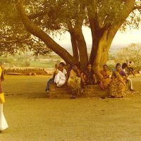 Agra 1980 Under the tree....© by leo1383, Альвар