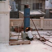 India - Bikaner - water heating!, Биканер