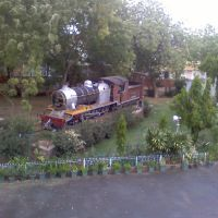 Steam Engine in DRM Office, Bikaner, Биканер